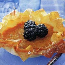 Pumpkin tartlets @ allrecipes.com.au