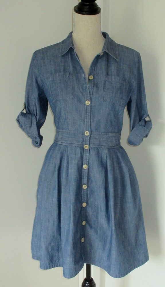 20 best images about denim and chambray on pinterest for Blue chambray shirt women s