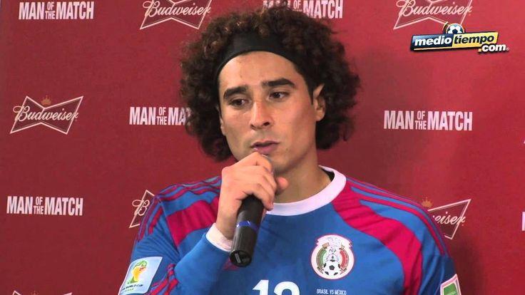 Guillermo Ochoa Portero de la seleccion Mexicana 2014 De los mejores partidos en mi vida: Memo Ochoa