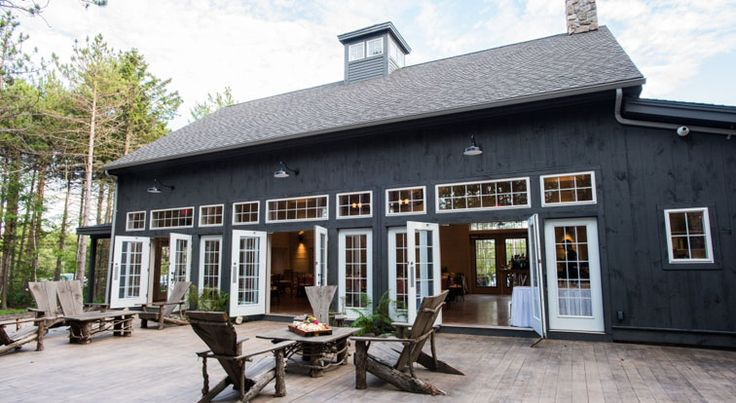 hidden pond maine - event barn