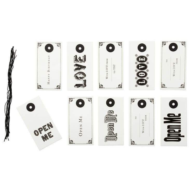 HISTORISK Pakettikortit - IKEA 0,99e / 10kpl