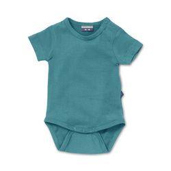 Infant bodysuit Maroc Blue. Natural basics for baby & toddler.  http://silkylabel.nl/romper-korte-mouw.html