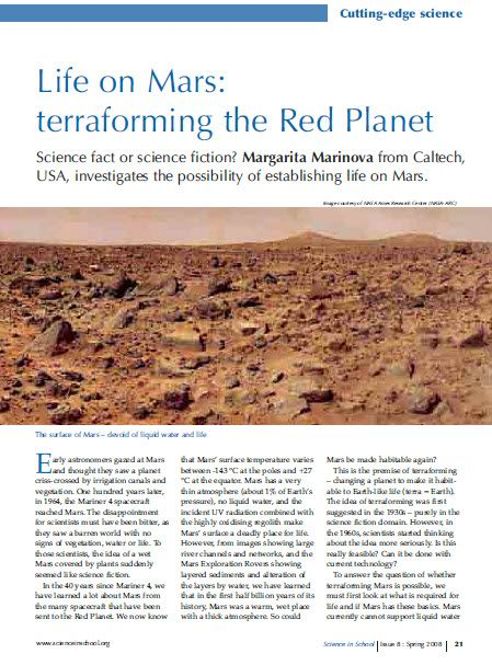 usa today on planet mars - photo #5