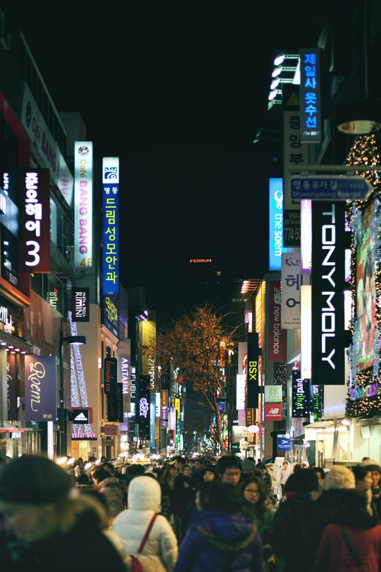 One of the things to do before I die: Shop in Myungdong, Seoul, South Korea ;)