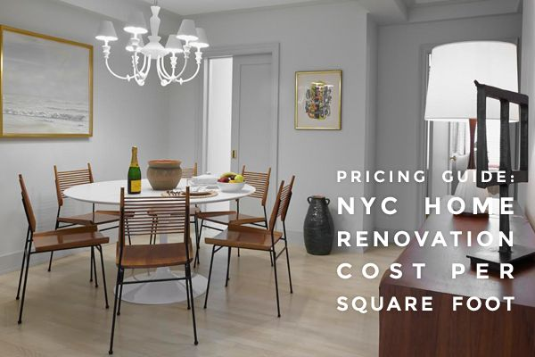 SWEETEN - Pricing Guide: NYC Home Renovation Cost Per Square Foot – Luxe