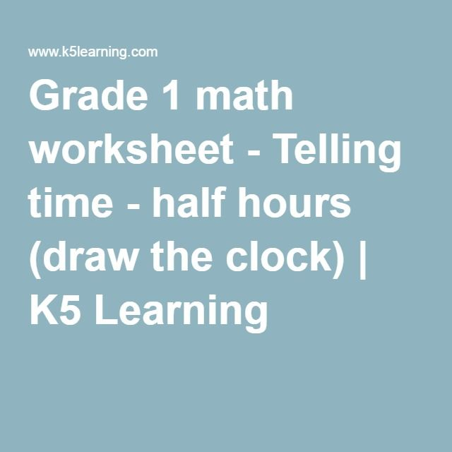 Sports Worksheets Excel Best  Grade  Math Worksheets Ideas On Pinterest  First Grade  Multiplication Worksheets 2 Digit By 1 Digit Pdf with Basic Math Word Problems Worksheets Excel Grade  Math Worksheet  Telling Time  Half Hours Draw The Clock  Reading Comprehension Worksheets Elementary Excel