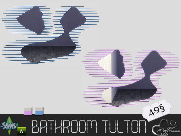 BuffSumm's Tulton Bathroom Wallmirror (Recolor 2)