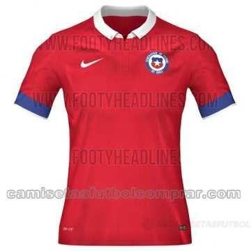 Tailandia Camiseta de la Selección de Chile 1ª 2015/2016  camisetas de futbol baratas en  http://www.camisetasfutbolcomprar.com/