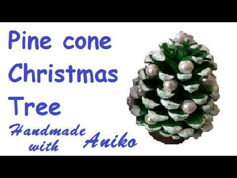 How to make Pine Cone X-mas tree