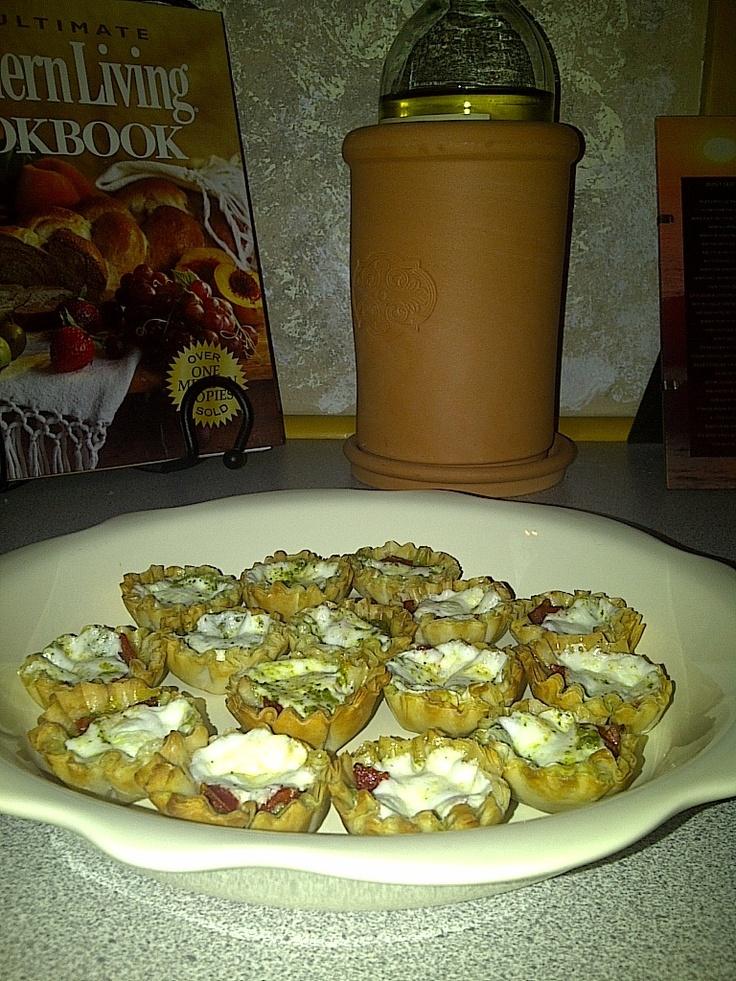 Mini Cheese Ball Recipe In Fillo Shells Recipes — Dishmaps