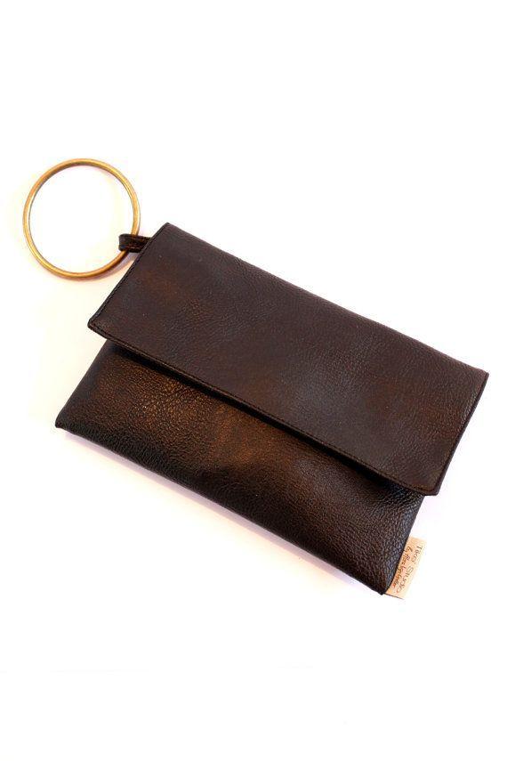 Black Clutch Purse with Handle, Casual Evening Purse, Vegan Clutch on Etsy, $60.00 - handbag, small, wallet, burberry, cheap, vera bradley purse *ad