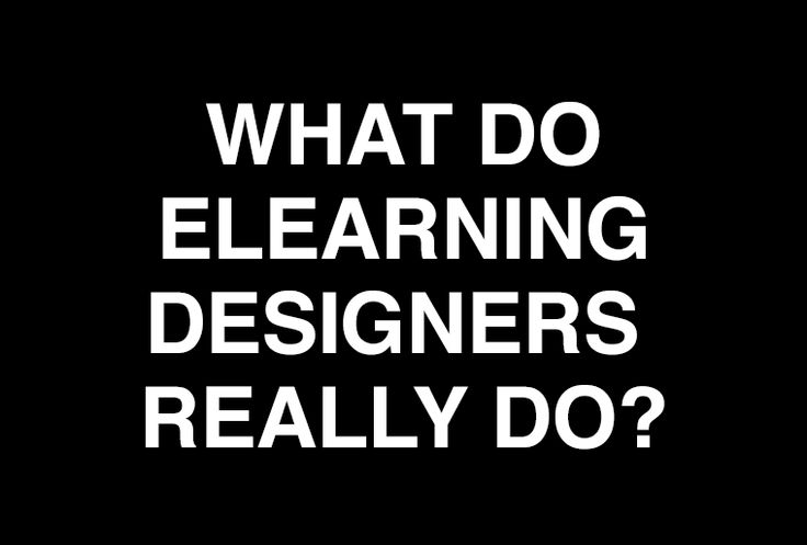 e learning and instructional design