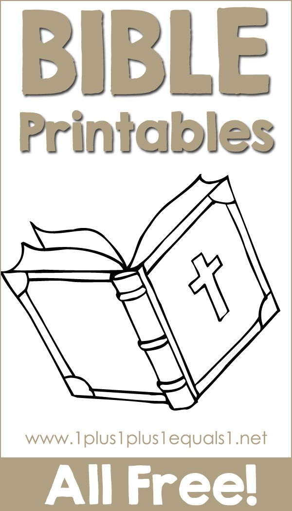 Free Bible Printables for Kids | Preschool bible lessons ...