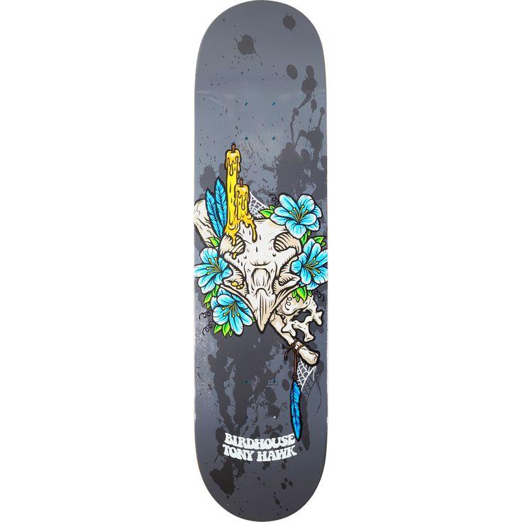 Birdhouse Skateboards Tony Hawk Shrine Skateboard Deck - 8 x 31.875 - Warehouse Skateboards