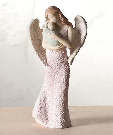 Baby's Guardian Angel Figure by Roman, Inc. on zulily