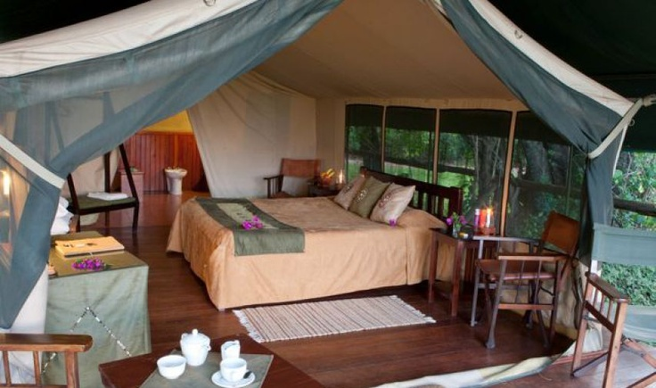 Safari tentLittle Governors Camp, Masai Mara, Kenya, safari  www.governorscamp.com