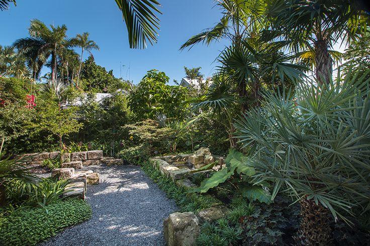 design, small garden, pocket garden, landscape design, Key West, water