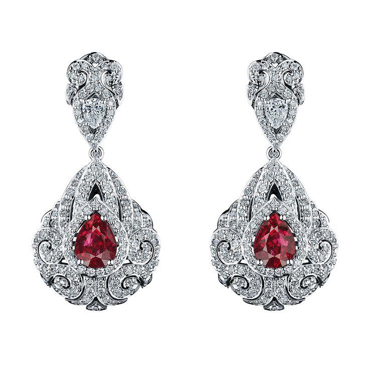 1153 best Earrings images on Pinterest | Diamond earrings, Indian ...
