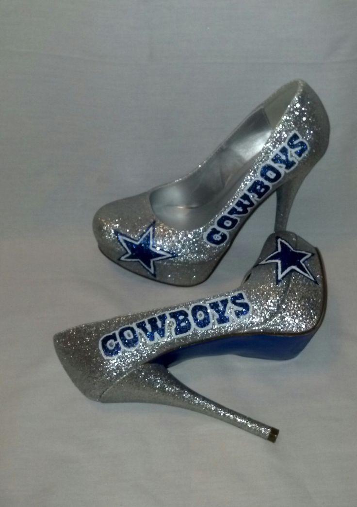 Dallas Cowboys heels by KustomRoyalKicks on esty