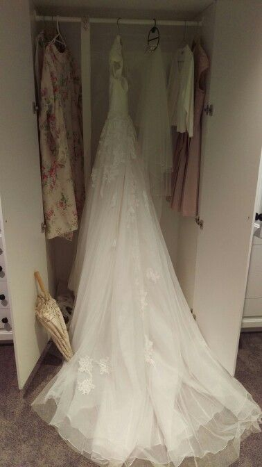 Wedding morning dress!