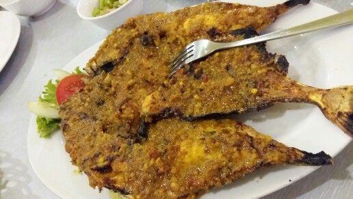 """Ikan Ayam"""" Bakar Rica @ Sarang Oci in Jakarta"""