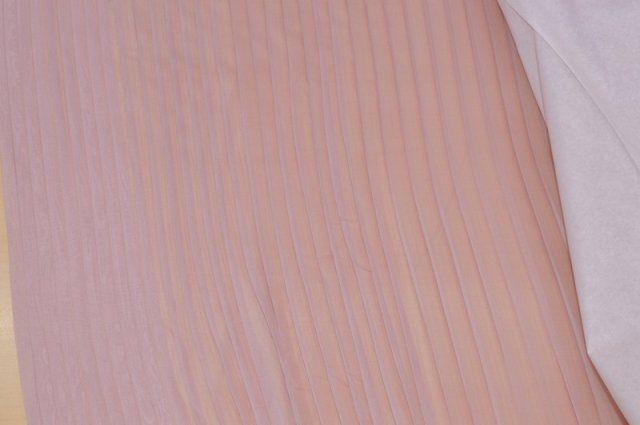 7fbd054949 Vendita on line chiffon plissettato rosa antico - tessuti ...