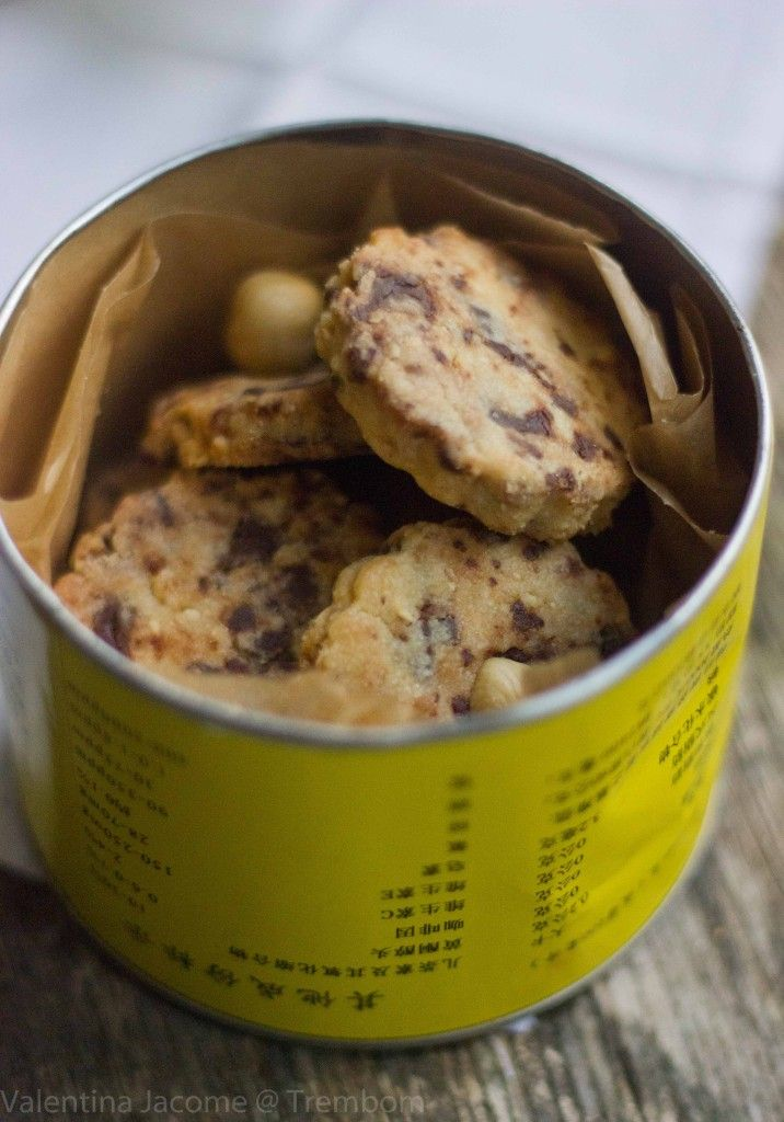 Biscoitos de chocolate e avelã on http://trembom.com