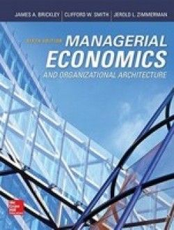Managerial Economics & Organizational Architecture (6th edition) pdf download ==> http://www.aazea.com/book/managerial-economics-organizational-architecture-6th-edition/