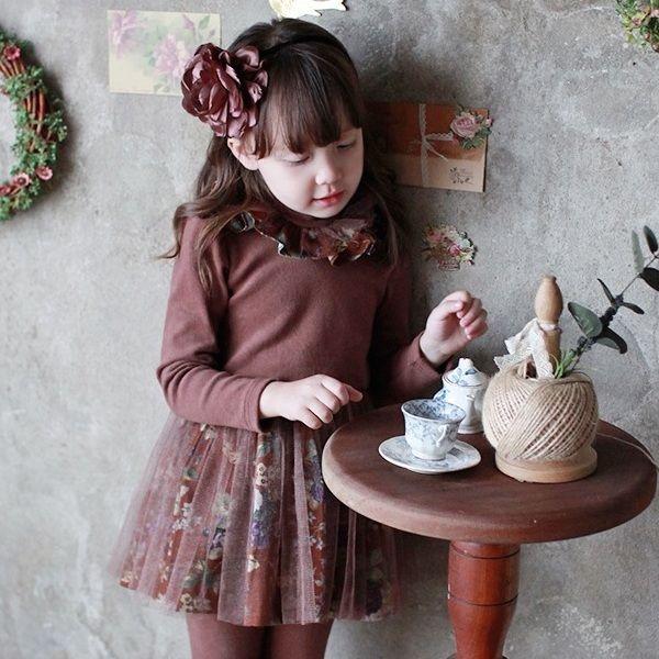 SALLIE DRESS #CandyRainbow #AW2015 #dresses #kidsonlineboutique