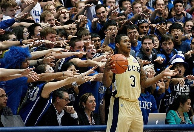 Georgia Tech Yellow Jackets vs Duke Blue Devils Mens College Basketball Game Tonight