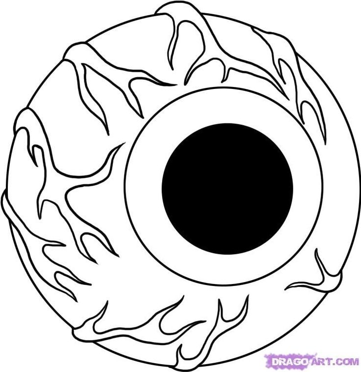 How To Draw An Eye Printable