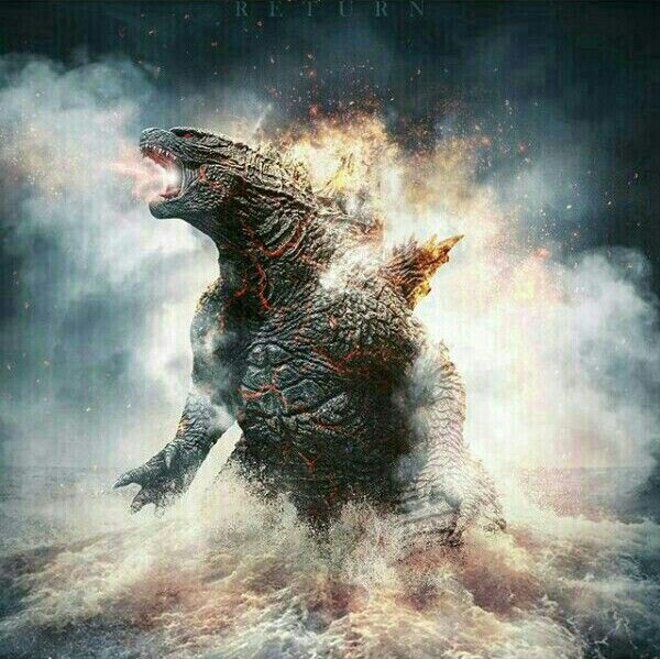 Pin By B R Y A N H On Art Godzilla Giant Monsters Godzilla Vs