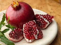 La granada porque era  de su frutas favoritas