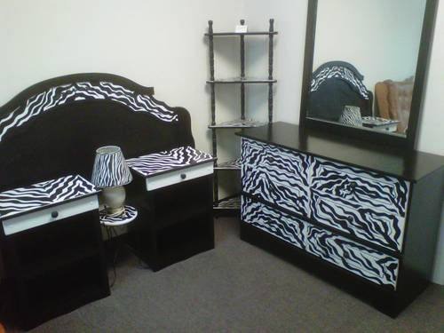 Zebra+furniture | Cute Zebra Bedroom Furniture Theme Decor Ideas For Teen