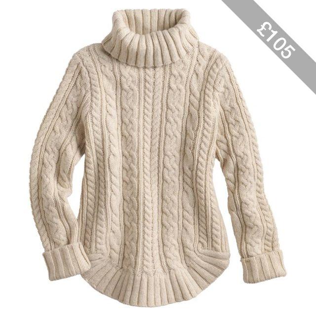 Women's Fisherman Turtleneck Sweater