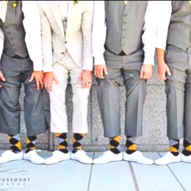 Funky Argyle Sock For The Groom And Groomsmen 100 Ways To Personalise Your Wedding I Ll Be Glad Pinned This One Day
