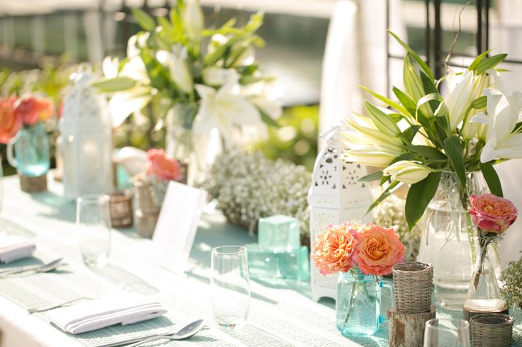 Bridal Table at the garden