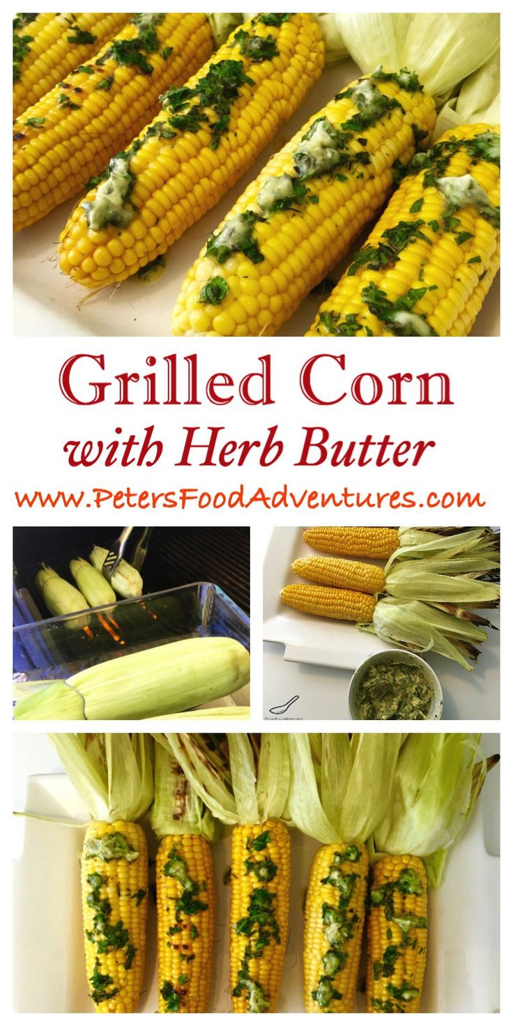 Just in time for summer entertaining. BBQ Grilled Corn on the Cob with fresh…