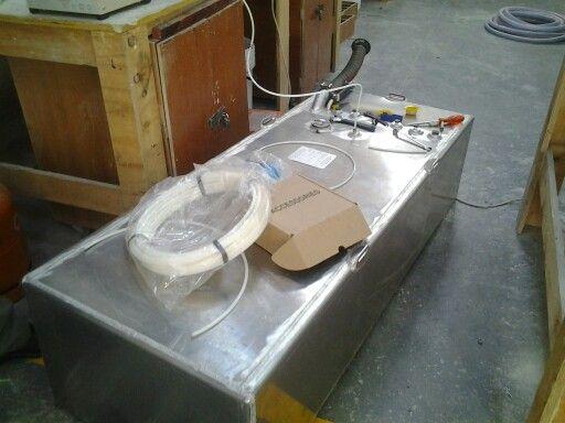 Fuel Tank testing for beeeeg boats
