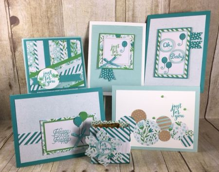 Stampin' Up!, BJ Peters, March 2016, Paper Pumpkin, Pocketful of Cheer