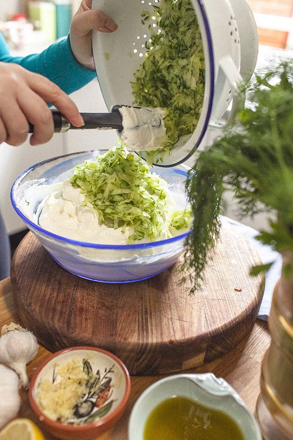 A Philhellene Feast - Creamy Cretan Tzaziki