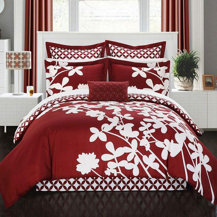 Chic Home Iris 7-piece Bed Set,