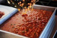 Ree  Drummond's Baked Beans for a crowd
