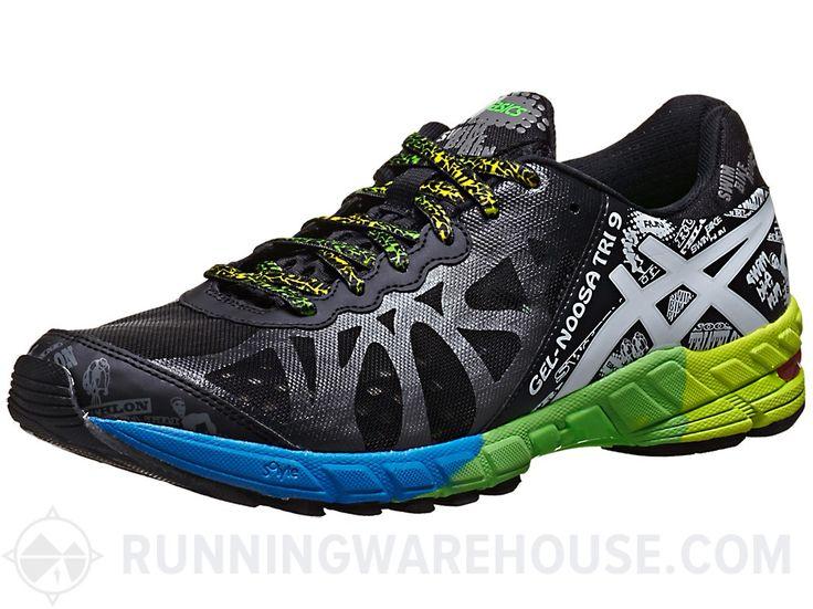 ASICS Gel Noosa Tri 9 Men's Shoes Black/White/Green