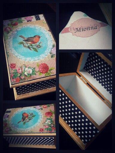 #handmadebymionna #decoupage #box