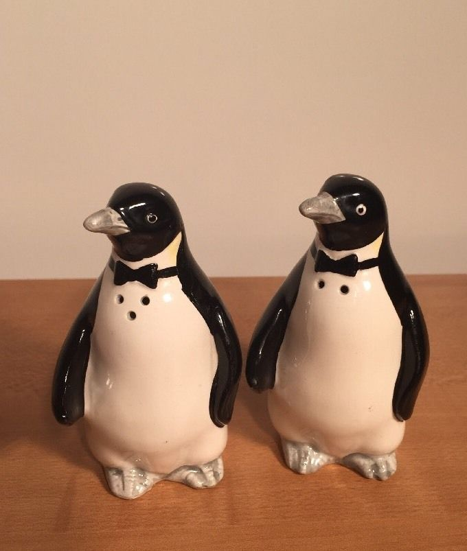 Fantastical Bird Salt And Pepper Shakers. Vintage Ceramic Porcelain Penguin Salt  Pepper Shakers OTAGIRI Japan 14 best My images on Pinterest