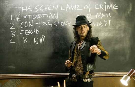 Russell Brand in St Trinians