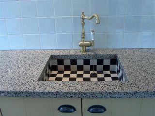 terrazzo aanrechtblad, terazo, keukenblad, terrazo, granito keukenblad, klassiek keukenblad, spoelbak terrazzo