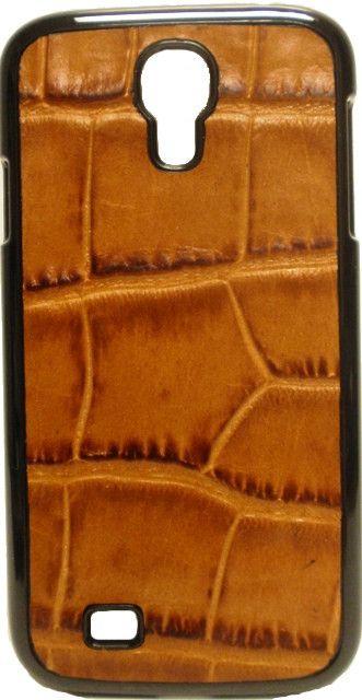 (3DB-PH747) Gator Brown Samsung Galaxy S4 Snap-on Shell Case