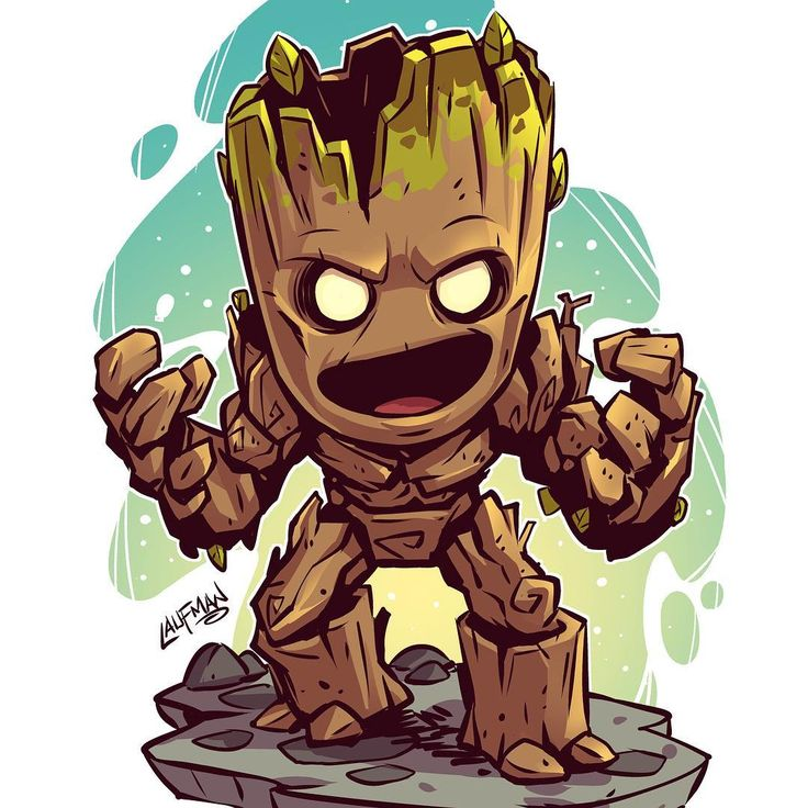 We are Groot! #groot #avengersinfinitywar #gotg #c…